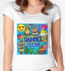 Danbee Tailliertes Rundhals-Shirt