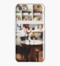 Restaurant Defocused iPhone Case/Skin
