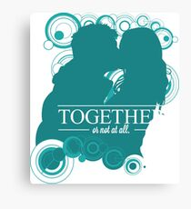 The Ponds - Together or Not At All Canvas Print