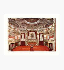 Théâtre du Château de Chimay - Belgium Art Print
