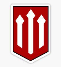 The Red Devils Sticker