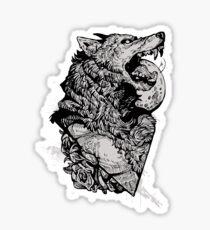 Werewolf Therewolf Sticker