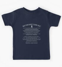 Invisible Illness Facts Kids Clothes