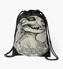 The Tattooed Girl Drawstring Bag