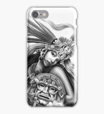 Warrior aztec iPhone Case/Skin