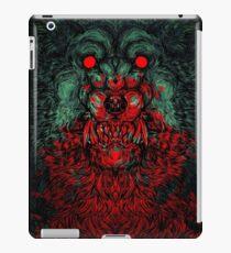 Werewolf shape iPad Case/Skin