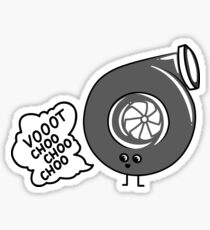 What does the turbo say? Sticker