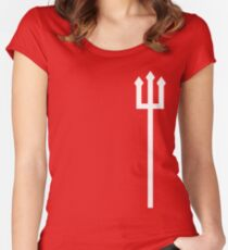 The Red Devils Women's Fitted Scoop T-Shirt
