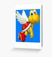Koopa Troopa - Mario Greeting Card