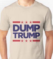 63fc7bcf Dump Trump - 2016 Election Slim Fit T-Shirt