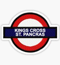 King's Cross St. Pancras Sticker