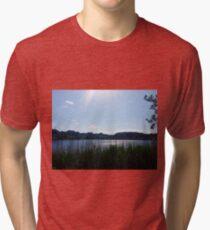 Welsh landscape Tri-blend T-Shirt