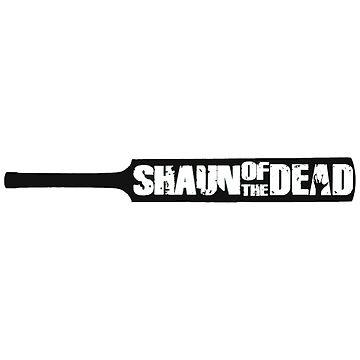 Shaun of the Dead - Cricket Bat by harryfowler
