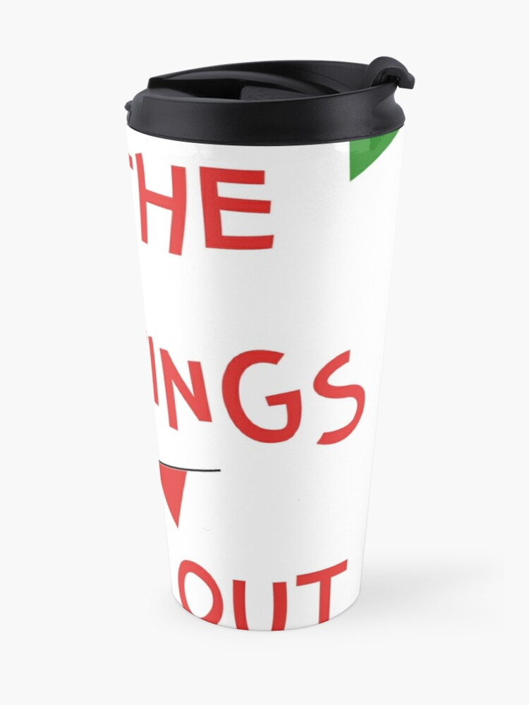 Alternate view of Get the buntings out - Mayo Travel Mug