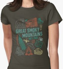 Great Smoky Mountains National Park Women's Fitted T-Shirt