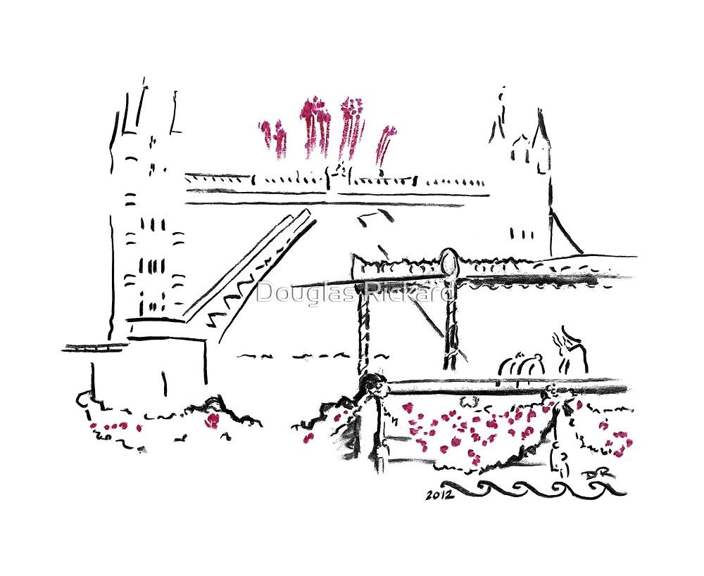 The Queen's Diamond Jubilee River Pageant by Douglas Rickard