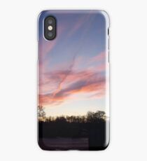 Welsh sunrise landscape iPhone Case