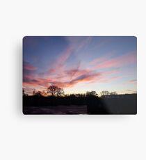 Welsh sunrise landscape Metal Print