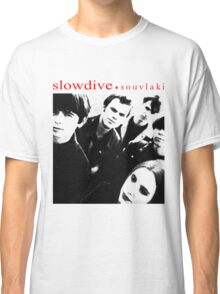 SLOWDIVE -SOUVLAKI- SHOEGAZER Classic T-Shirt