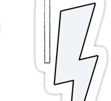 Lightning Strike Sticker