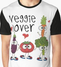 Vegetables Vegetarian Veggie Lover Graphic T-Shirt
