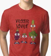 Vegetables Vegetarian Veggie Lover Tri-blend T-Shirt