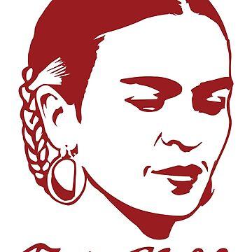 Frida Kahlo Tshirt with Real Signature by LaJura