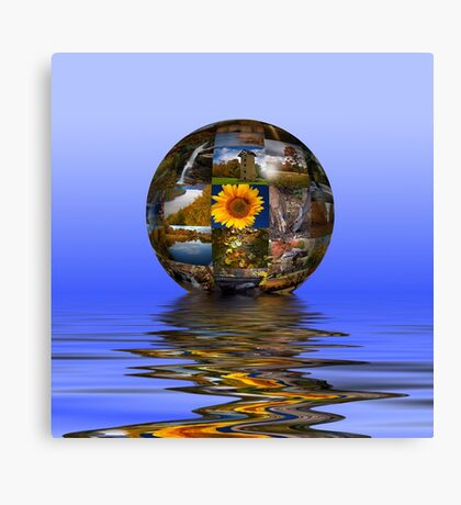 The World In Pictures Canvas Print