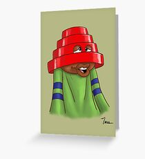 Devo Donald Greeting Card