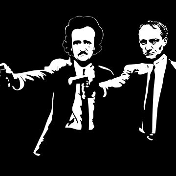Literature Killers Pulp Fiction Poe Baudelaire by SaverioOste