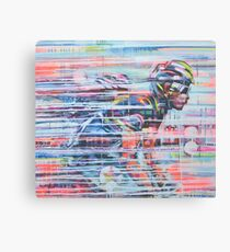 Slip-streaming Canvas Print