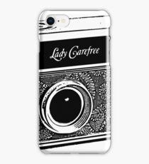 Argus-Lady Carefree iPhone Case/Skin