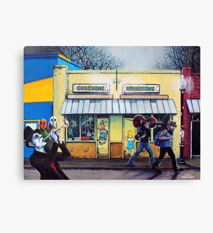 'SUNSHINE DAYDREAMS' Canvas Print