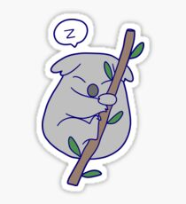 Kawaii Sleeping Koala Sticker