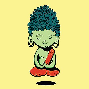 Young Green Buddah by Ignasi