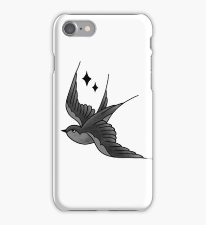 Swallow Tattoo iPhone Case/Skin