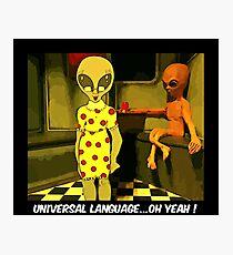 Universal Language Photographic Print