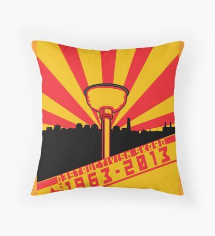 Dalek Destructivism Throw Pillow