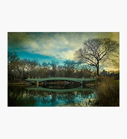 Bow Bridge Reflection Photographic Print