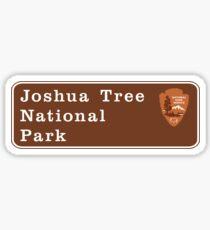 Joshua Tree National Park Sign, CA Sticker