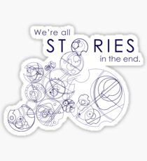 We're Just Stories Sticker