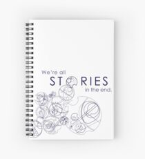 We're Just Stories Spiral Notebook