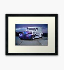 1940 Ford Delivery Sedan aka 'Pumpkin Panel' Framed Print
