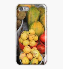 Exotic Fruits and Vegetables iPhone Case/Skin