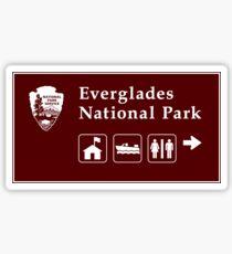 Everglades National Park Sign, FL Sticker