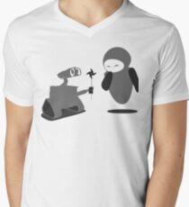 Camiseta de cuello en V Wall-E ... ¿Proponiendo?