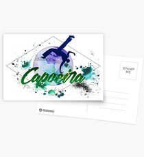 Brazilian Capoeira Postcards