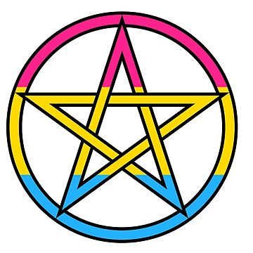 Pride - Pansexual and Pagan by silverfeathers