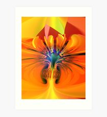 Abstract composition 116 Art Print