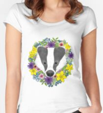 Spring Badger Women's Fitted Scoop T-Shirt